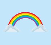 Arc-en-ciel de Plein-arc illustration libre de droits