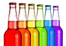 Arc-en-ciel de soda image libre de droits