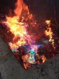 Arc-en-ciel du feu Image libre de droits