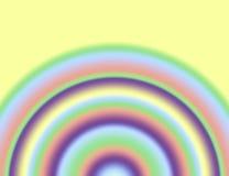 Arc-en-ciel en pastel illustration stock