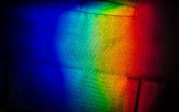 Arc-en-ciel foncé Photographie stock libre de droits