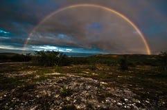 Arc-en-ciel Lebesby Image libre de droits