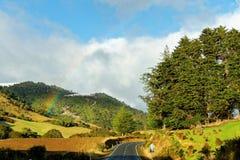 Arc-en-ciel, Nouvelle-Zélande Image libre de droits