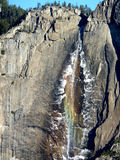 Arc-en-ciel Yosemite Falls Photographie stock libre de droits