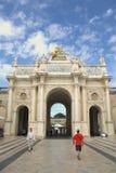 Arc Héré - Nancy, France. NANCY, FRANCE - September 3, 2015: view of Stanislas Square and the Arc Héré in Nancy, France Stock Image