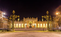 Arc Here as seen from Place de la Carriere - Nancy Royalty Free Stock Photos