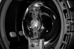 Arc metal halide lamp Royalty Free Stock Images