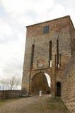 Arc novilara. City castel italy Royalty Free Stock Images