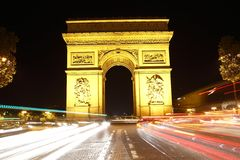 Arc in Paris Stock Photography