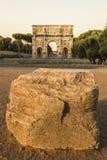Arc in rome Stock Photo