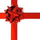 Arc rouge brillant Images libres de droits