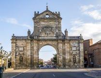 Arc of St. Benedict in Sahagun, Spain Stock Image