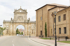 Arc of St. Benedict, Sahagun, Spain, Camino de Santiago Royalty Free Stock Photos