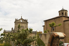 Arc of St. Benedict, Sahagun, Spain, Camino de Santiago Royalty Free Stock Photography