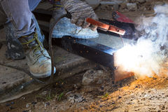 Arc steel work Stock Photography