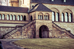 Arc and steps of Imperial Palace in Goslar Royalty Free Stock Images