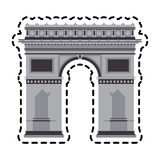 Arc of triomphe Royalty Free Stock Photos
