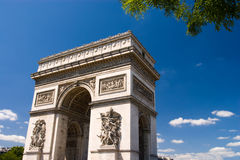 Arc the Triomphe, Paris Stock Image