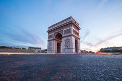 Arc of Triomphe Paris Stock Photos
