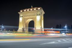 Arc of Triumf. The Arc of Triumf from Bucharest, Romania Royalty Free Stock Image