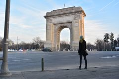 Arc of Triumph royalty free stock photography