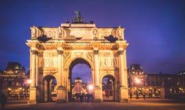 Arc Triumph, Paris Royalty Free Stock Photos