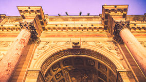 Arc Triumph, Paris Stock Images