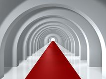 Arc tunnel Royalty Free Stock Image