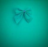 Arc vert sur un fond vert clair avec la vignette Photographie stock libre de droits