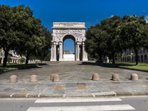The arc of Victory in Genova. Italy Royalty Free Stock Image