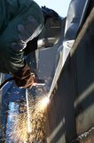 Arc weld Stock Image