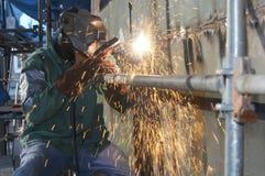 Arc welder Stock Photography