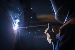 Arc welder Stock Photos