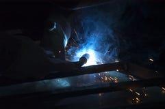 Arc welding Royalty Free Stock Image
