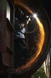 Arc welding Stock Photography