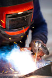 Arc Welding. Metal Endustry Concept Royalty Free Stock Photo