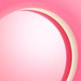 Arca curvada como o molde claro do projeto do fundo Fotografia de Stock