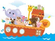Arca de Noah ilustración del vector