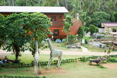 A arca de Noahs na província Filipinas de Quezon do santuário do Ni Kamay Hesus Imagens de Stock