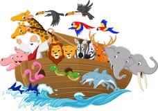Arca do ` s de Noah dos desenhos animados Imagens de Stock