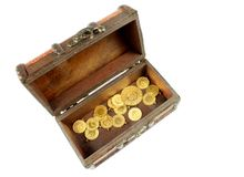 Arca do tesouro fotografia de stock royalty free