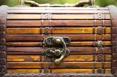 Arca do tesouro pequena  Fotos de Stock