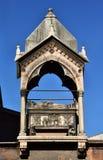 Arca funerária em Verona, um modelo de Guglielmo da Castelbarco para escumalhas foto de stock