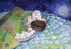 A arca no porto Imagem de Stock Royalty Free