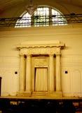 Arca, Ohel Rachel Synagogue, Shanghai, China Imagem de Stock