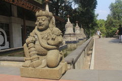 Arca. A statue or what we used to called Arca from the mendut temple Stock Photos