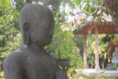Arca. A statue or what we used to called Arca from the mendut temple Stock Photography