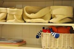 Arca y bolsos del almacenaje Foto de archivo