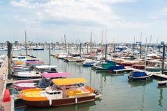 Arcachon, Франция, Марина стоковое фото rf