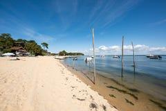 Arcachon Baai, Frankrijk, een strand dichtbij Cap Ferret Stock Afbeelding